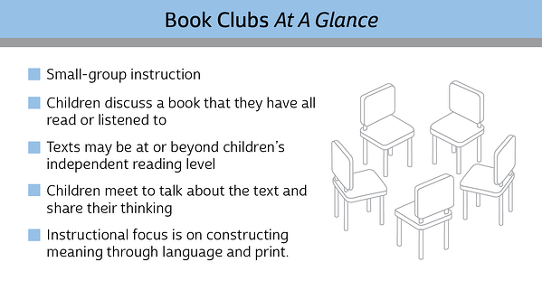 Book Clubs At A Glance